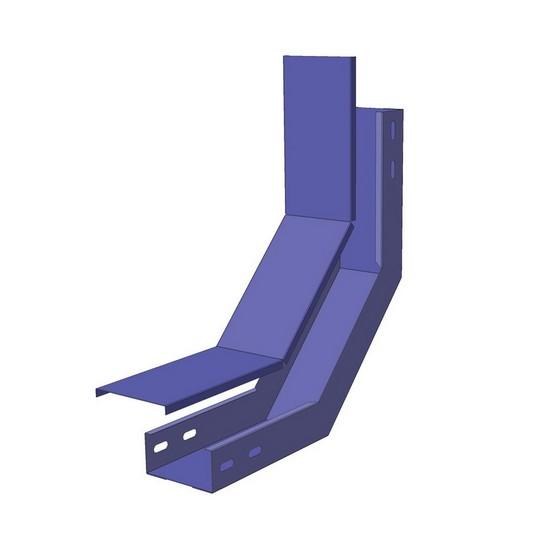 СЗП монтажного лотка North Aurora ЛМЗП 100*50-0.7-90-ОЦ