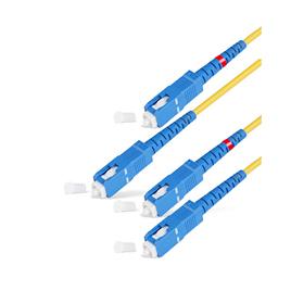 Патч Корд Оптоволоконный SC/UPC-SC/UPC SM 9/125 Duplex 3.0мм 0.5 м