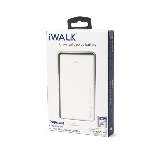 Портативное зарядное устройство iWalk Supreme 13000 DUO Белый