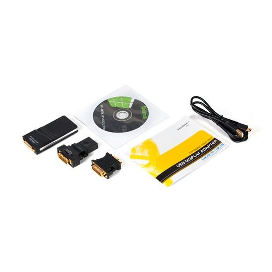 Внешняя USB видеокарта EVUGA71