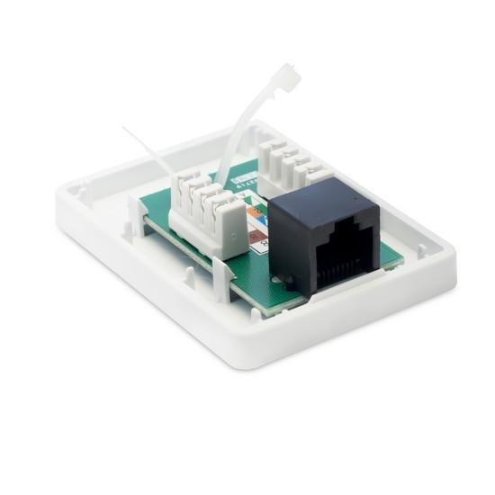 Розетка Настенная телекоммуникационная 1 Модуль SHIP A167