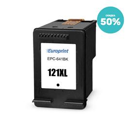 Картридж Europrint EPC-641BK (№121xl)