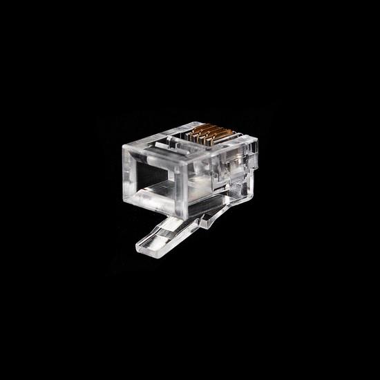 Коннектор телекоммуникационный RJ 11 SHIP S901C