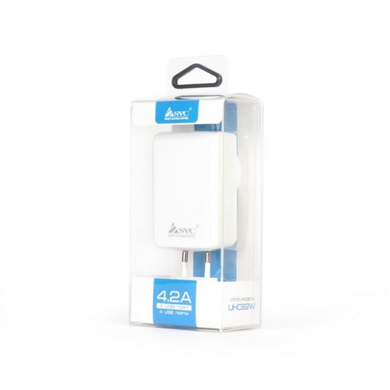 Универсальное USB зарядное устройство SVC UHC62W