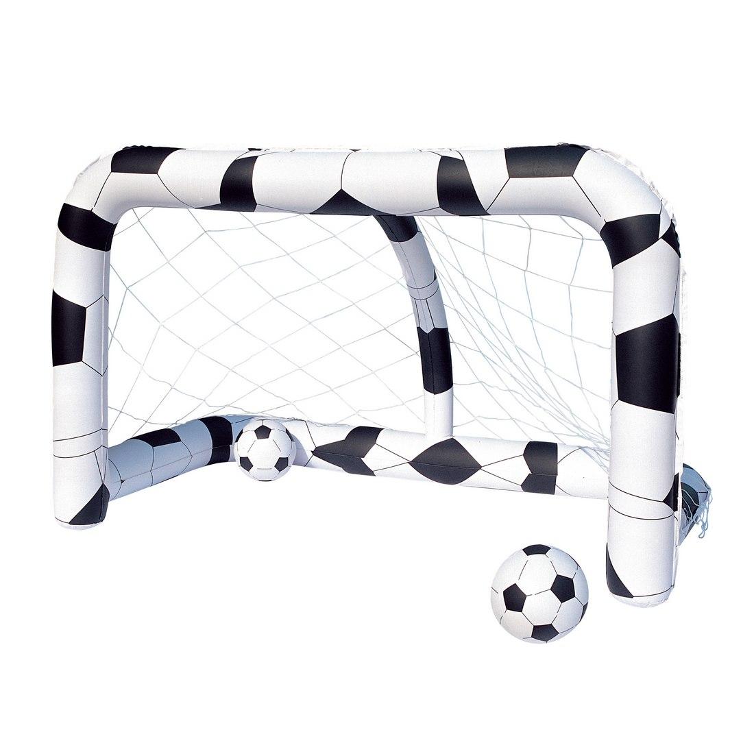 Комплект Bestway 52058 (надувные футбольные ворота + надувные мячи)