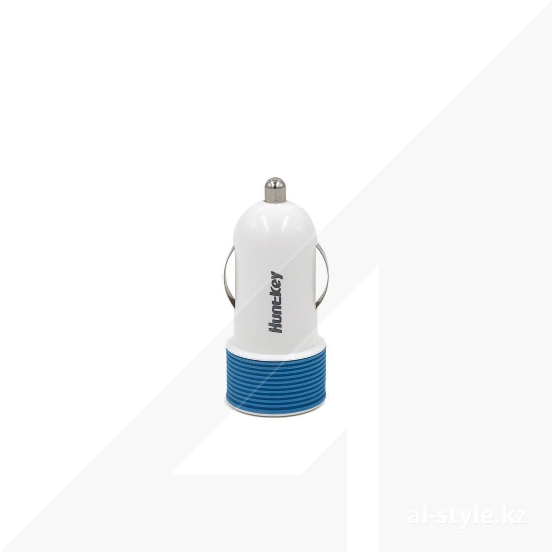 Автомобильное USB зарядное устройство HuntKey HKB01005021-0B