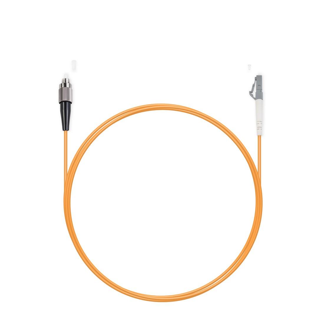Патч Корд Оптоволоконный FC / UPC-LC / UPC MM OM1 62.5 / 125 Simplex 3.0мм 1 м