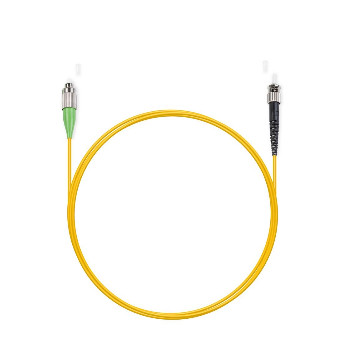 Патч Корд Оптоволоконный FC / APC-ST / UPC SM 9 / 125 Simplex 3.0мм 1 м