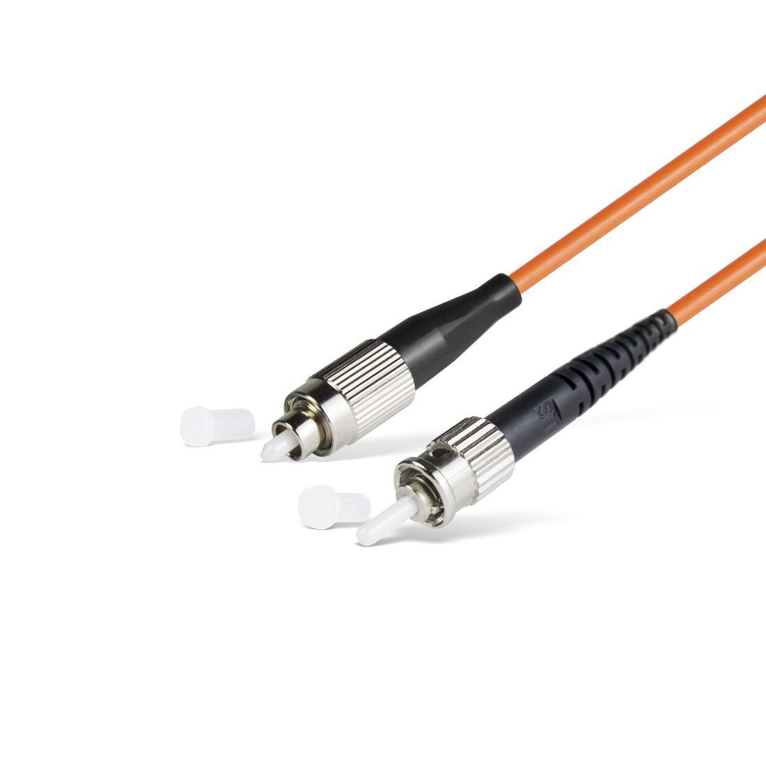 Патч Корд Оптоволоконный FC / UPC-ST / UPC MM OM1 62.5 / 125 Simplex 3.0мм 1 м