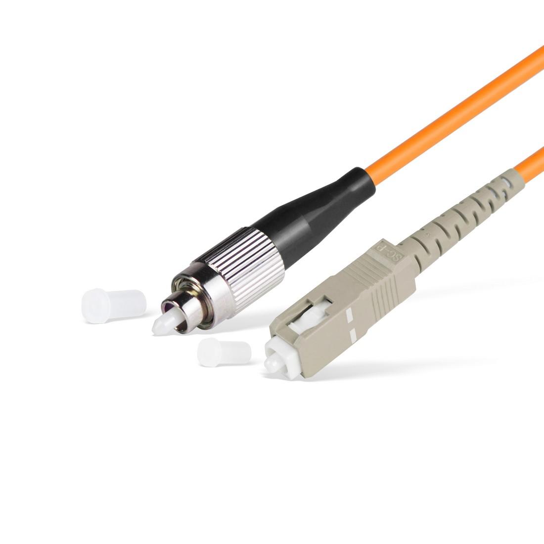 Патч Корд Оптоволоконный FC / UPC-SC / UPC MM OM1 62.5 / 125 Simplex 3.0мм 1 м