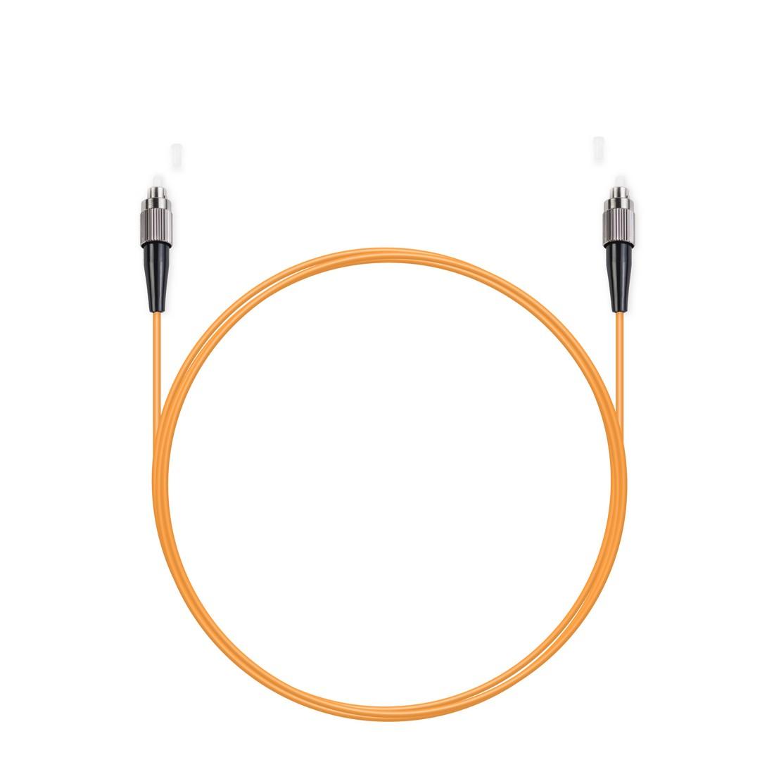Патч Корд Оптоволоконный FC / UPC-FC / UPC MM OM2 50 / 125 Simplex 3.0мм 1 м