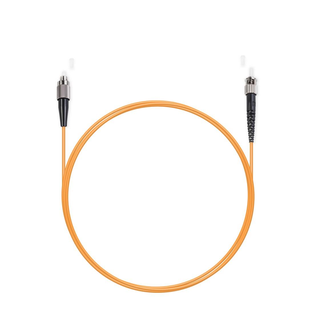 Патч Корд Оптоволоконный FC / UPC-ST / UPC MM OM2 50 / 125 Simplex 3.0мм 1 м