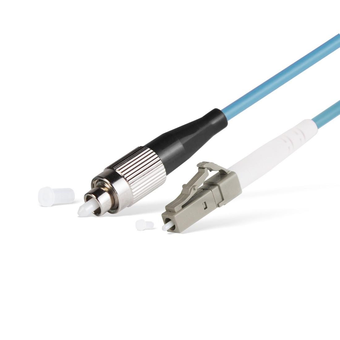 Патч Корд Оптоволоконный FC / UPC-LC / UPC MM OM3 50 / 125 Simplex 3.0мм 1 м