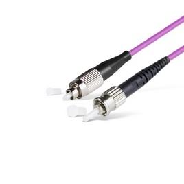 Патч Корд Оптоволоконный FC/UPC-ST/UPC MM OM4 50/125 Simplex 3.0мм 1 м