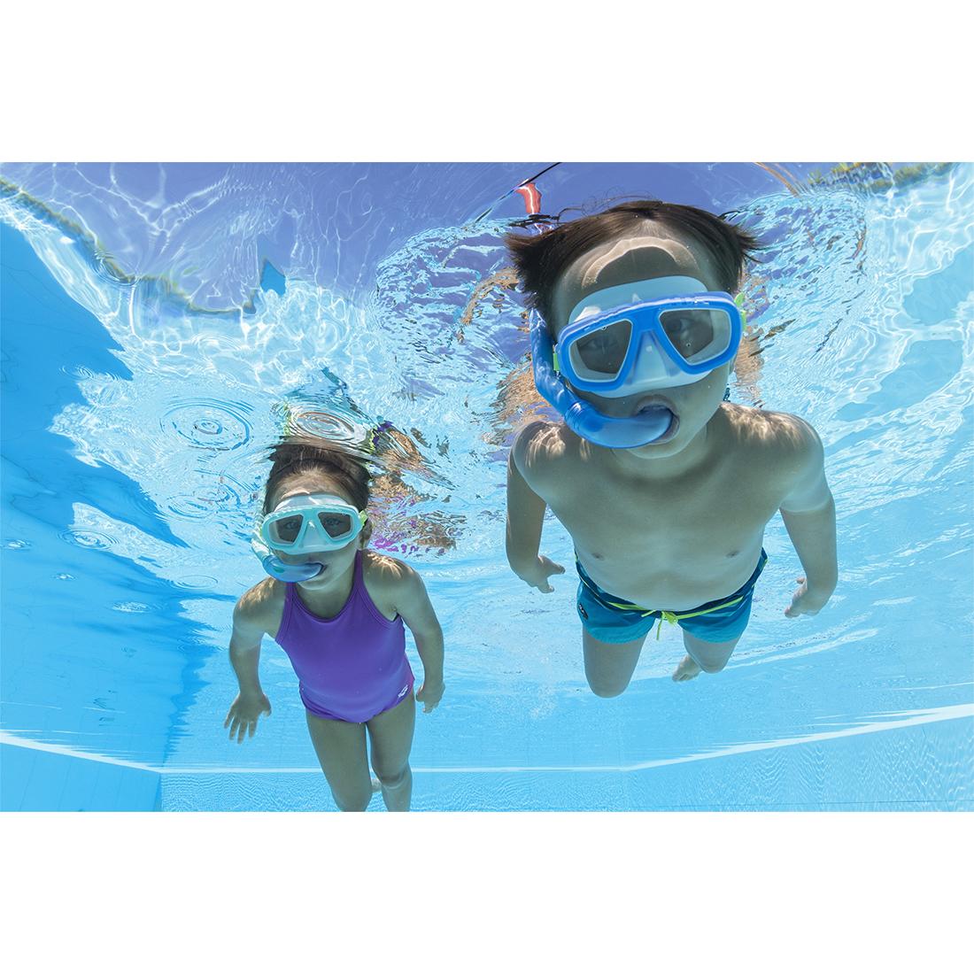 Набор для плавания Bestway 24018 в упаковке: маска, трубка