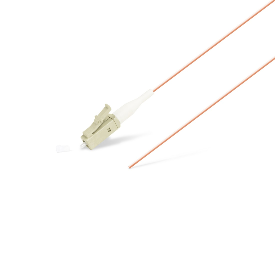Пигтейл Оптический LC / UPC MM OM4 50 / 125 0.9мм 1.5 м