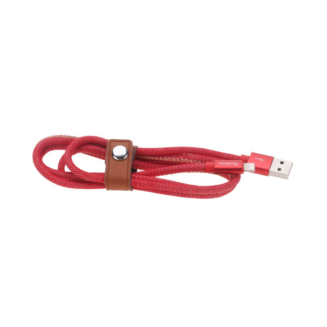 Интерфейсный кабель Yoobao YB-427 Red  Lightning