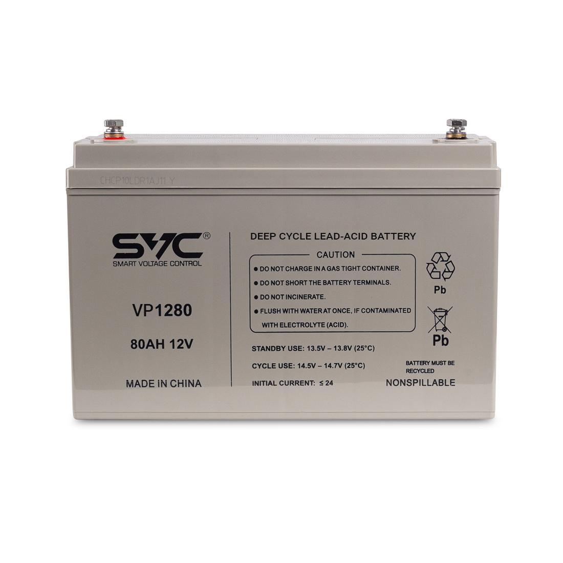 Батарея SVC 12В 80 Ач