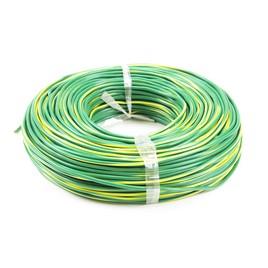 Провод монтажный iPower RV 1х0.5 жёлто-зелёный