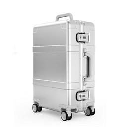 "Чемодан Metal Trolley Case 20"" XNA4013RT Серебристый"