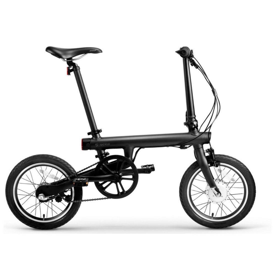 Электровелосипед Mi QiCYCLE Folding Electric Bicycle Черный
