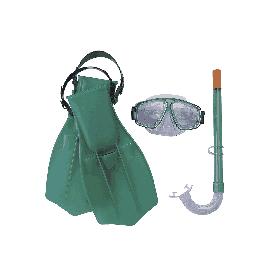 Набор для плавания Bestway 25009 (маска, трубка, ласты)
