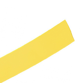 Трубка термоусаживаемая Deluxe DRS 4/2 желтая