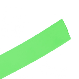 Трубка термоусаживаемая Deluxe DRS 6/3 зелёная
