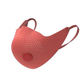Защитная маска-респиратор с фильтром Xiaomi MiJia AirPOP Airwear Красный