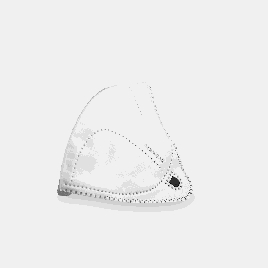 Сменный фильтр для маски для очистки воздуха  Xiaomi MiJia AirWear Белый