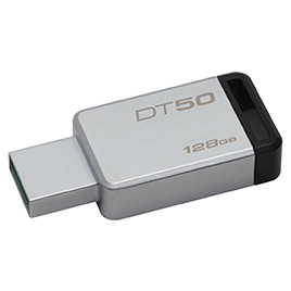 USB-накопитель Kingston DataTraveler® 50  (DT50) 128GB