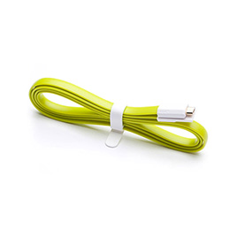 Интерфейсный кабель MICRO USB Xiaomi 120cm Зелёный
