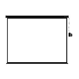 Экран (с пультом Д/У) для проекторов Deluxe DLS-ERC406-305B