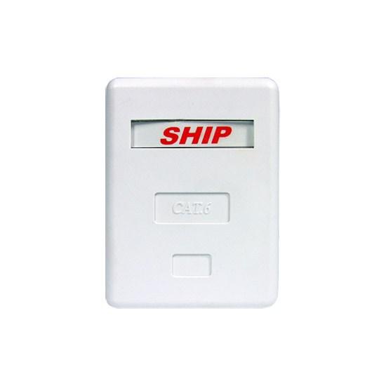 Розетка Настенная телекоммуникационная 1 Модуль SHIP A184-1