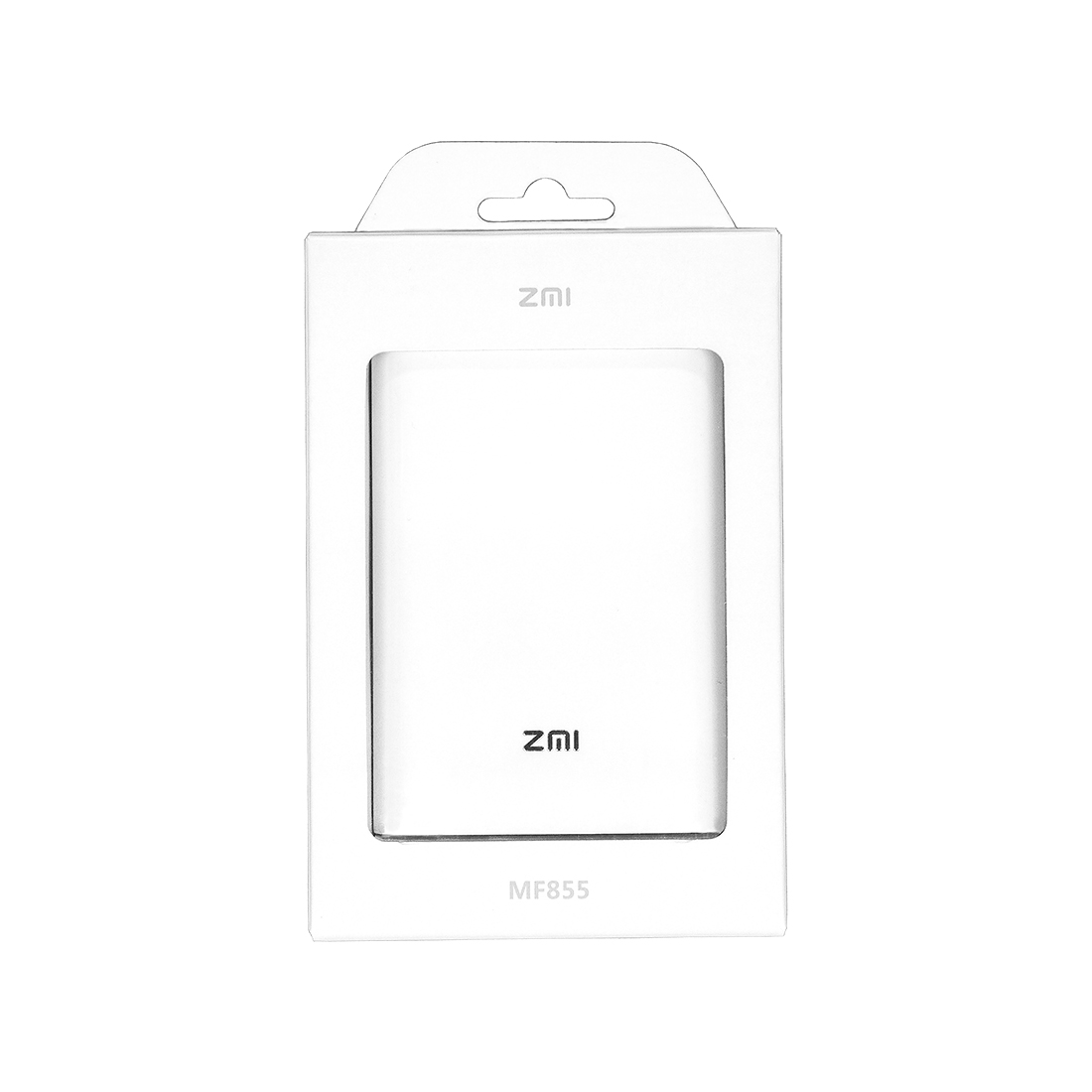 Портативное зарядное устройство -роутер Xiaomi ZMi MF855 7800mAh Белый