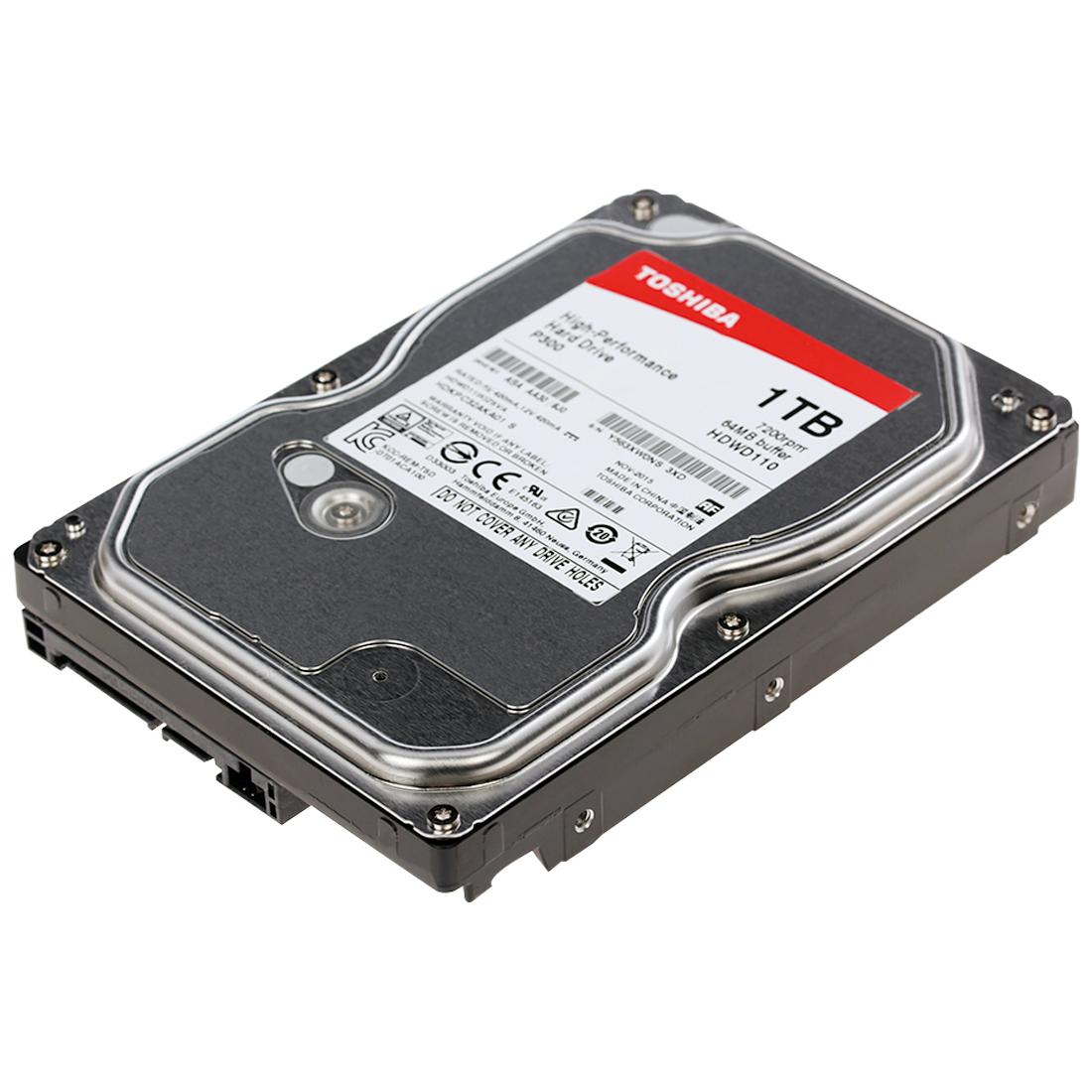 Жёсткий диск HDD 1Tb Toshiba P300 SATA6Gb / s 7200rpm 64Mb 3,5