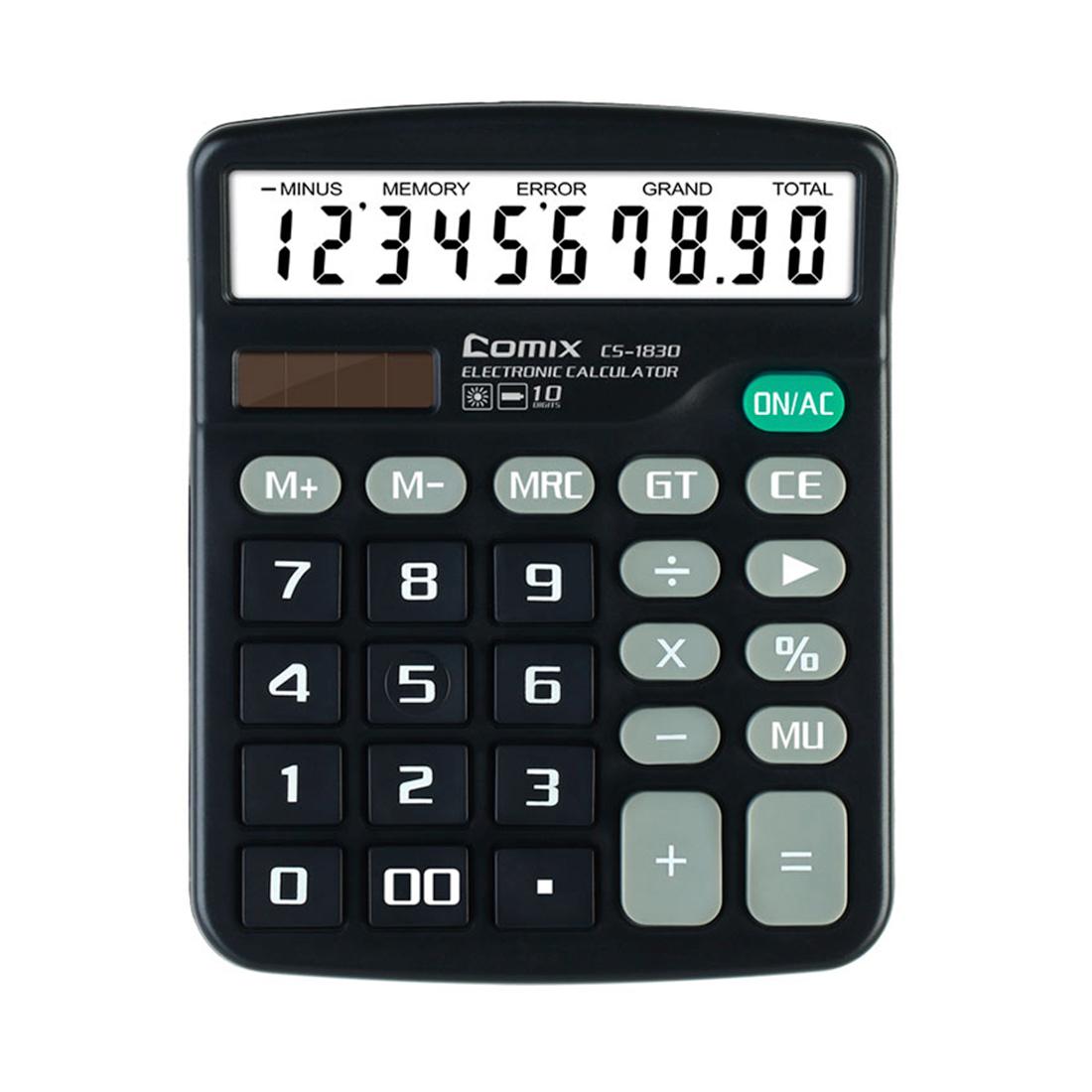 Калькулятор Comix CS-1830, настольный 10 разряд.