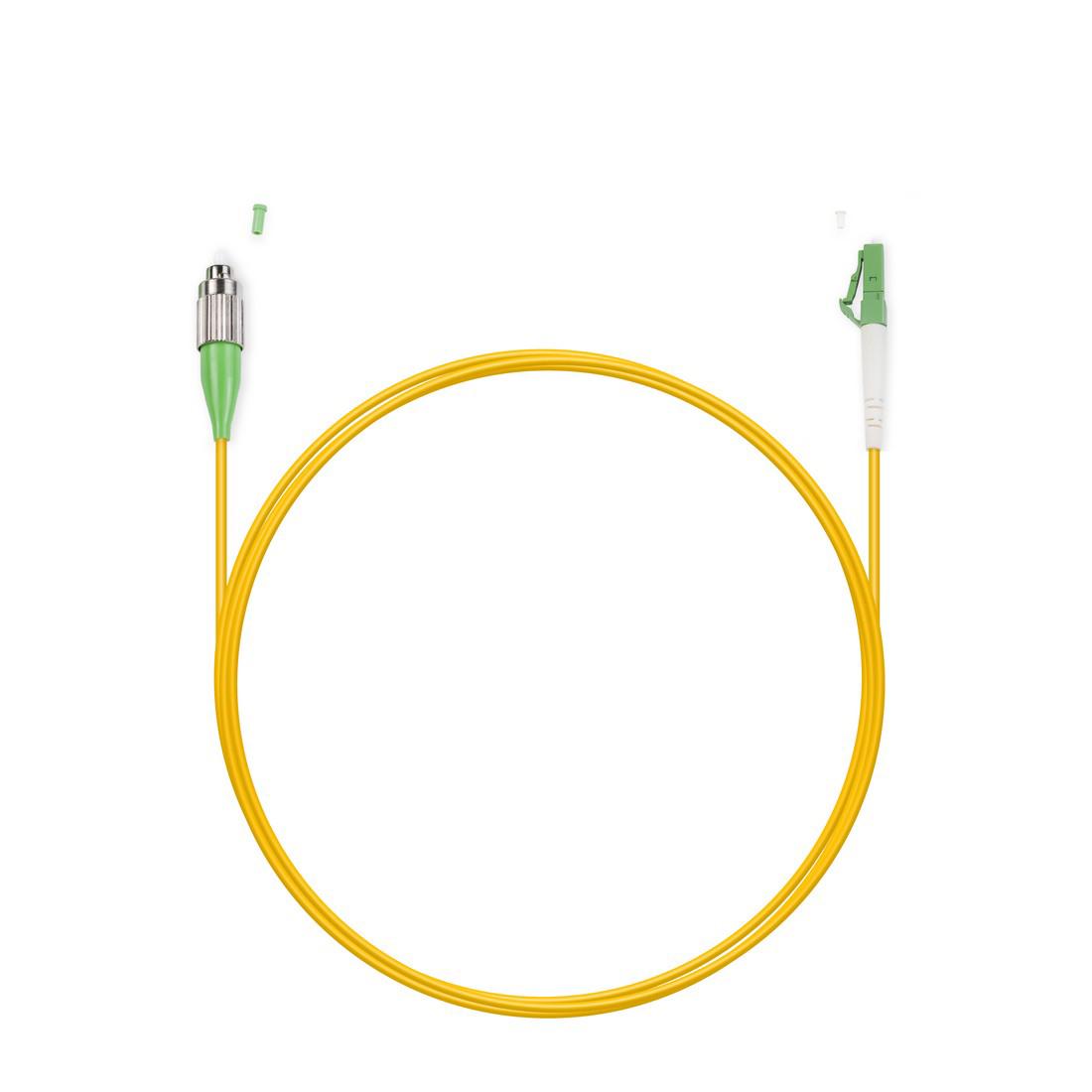 Патч Корд Оптоволоконный FC / APC-LC / APC SM 9 / 125 Simplex 2.0мм 1 м