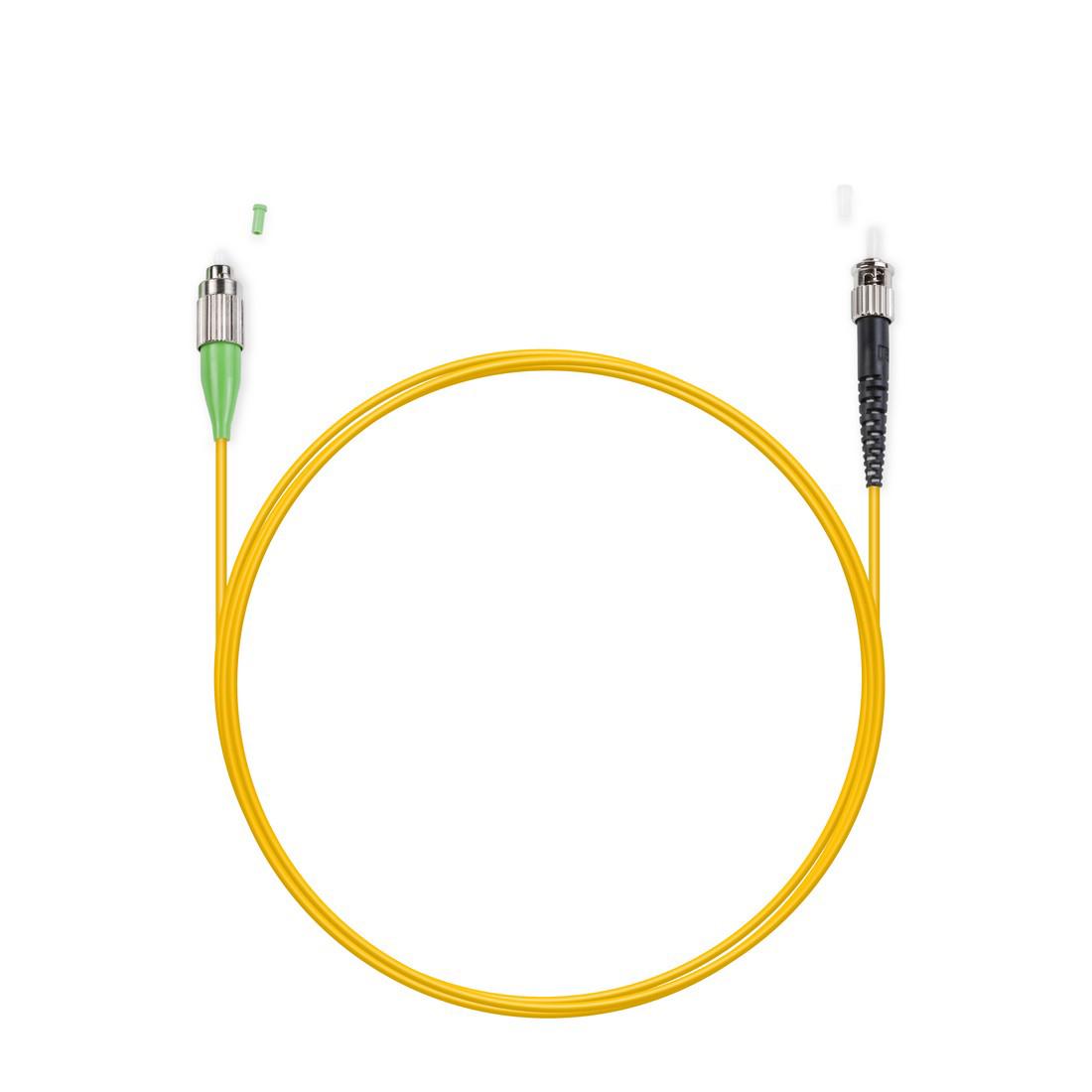 Патч Корд Оптоволоконный FC / APC-ST / UPC SM 9 / 125 Simplex 2.0мм 1 м