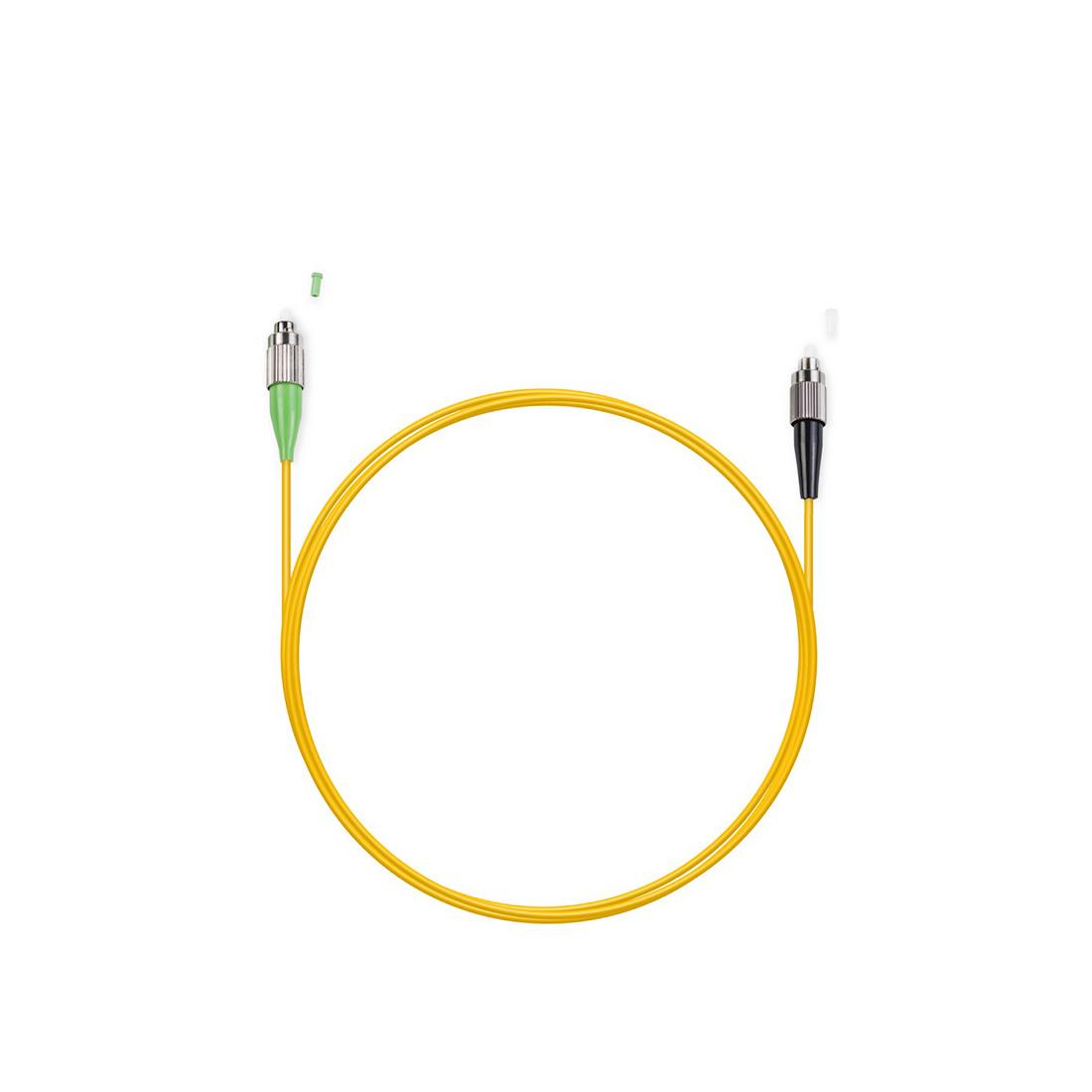 Патч Корд Оптоволоконный FC / UPC-FC / APC SM 9 / 125 Simplex 2.0мм 1 м