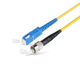 Патч Корд Оптоволоконный SC/UPC-ST/UPC SM 9/125 Simplex 2.0мм 1 м