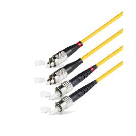 Патч Корд Оптоволоконный FC/UPC-ST/UPC SM 9/125 Duplex 2.0мм 1 м