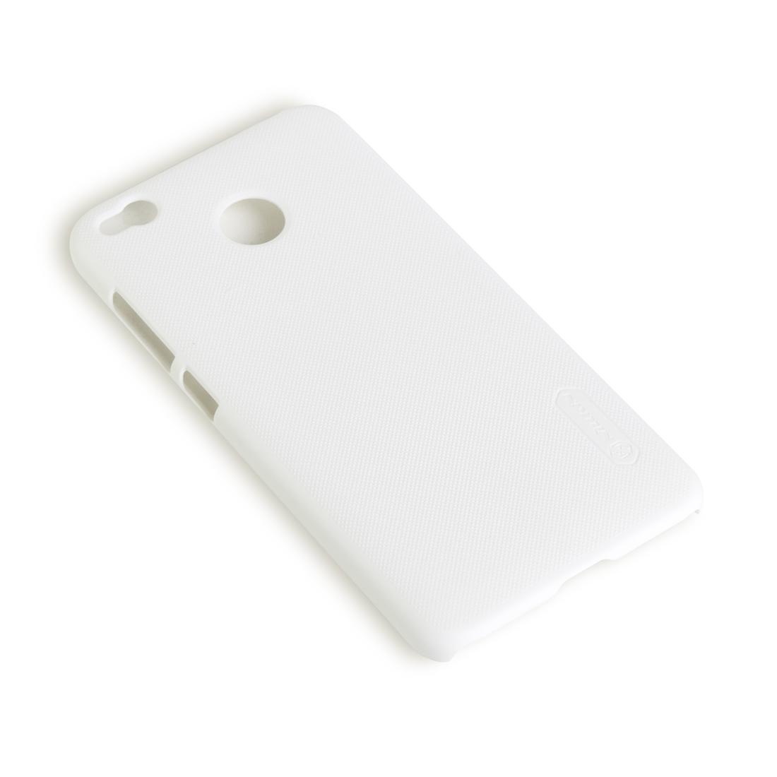 Чехол для телефона NILLKIN для Redmi 4X (Super Frosted Shield) Белый