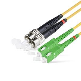 Патч Корд Оптоволоконный SC/APC-ST/UPC SM 9/125 Duplex 2.0мм 1 м