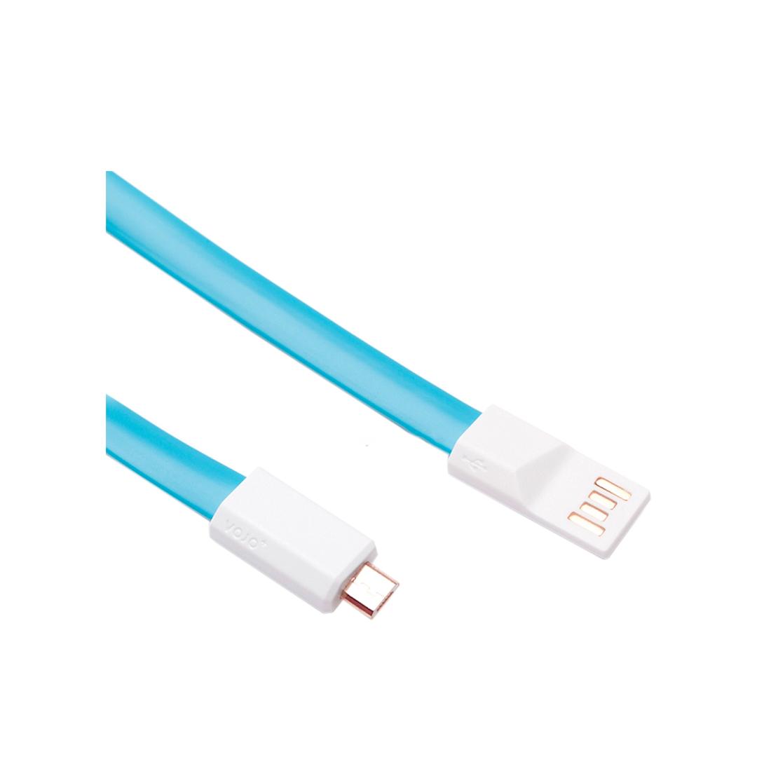 Интерфейсный кабель MICRO USB Xiaomi 120cm Голубой