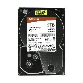 "Жёсткий диск HDD 2Tb Toshiba SATA6Gb/s 7200rpm 64Mb 3,5"" HDWD120UZSVA"