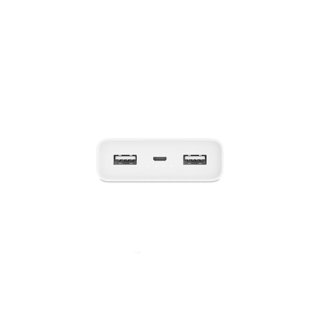 Портативное зарядное устройство Xiaomi Mi Power Bank 20000mAh 2С Белый