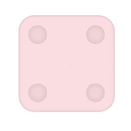 Силиконовый чехол для весов Xiaomi Mi Scale 2 Розовый