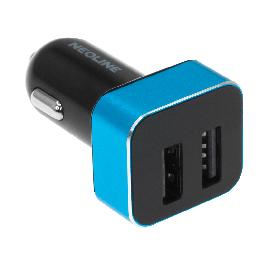Автомобильное USB зарядное устройство 2.1А  Neoline VolterD2 USB