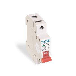 Автоматический выключатель реечный HYUNDAI HIBD63-N 1PMCS0000C 1Р 50А